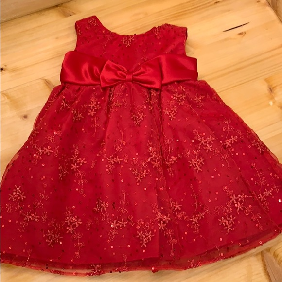 Rare Editions Other - Baby girl holiday dress
